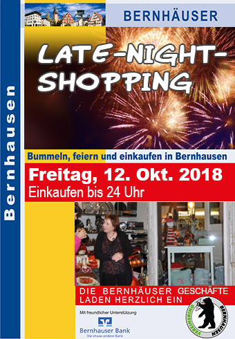 Bernhausen LateNightShopping17